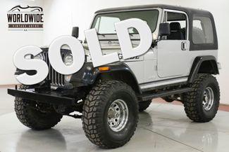 1982 Jeep CJ  360 V8 MANUAL 4X4 35 INCH TIRES AIR LOCKERS   | Denver, CO | Worldwide Vintage Autos in Denver CO