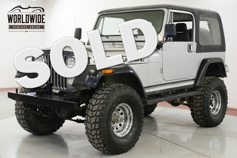 1982 Jeep CJ  360 V8 MANUAL 4X4 35 INCH TIRES AIR LOCKERS   | Denver, CO | Worldwide Vintage Autos