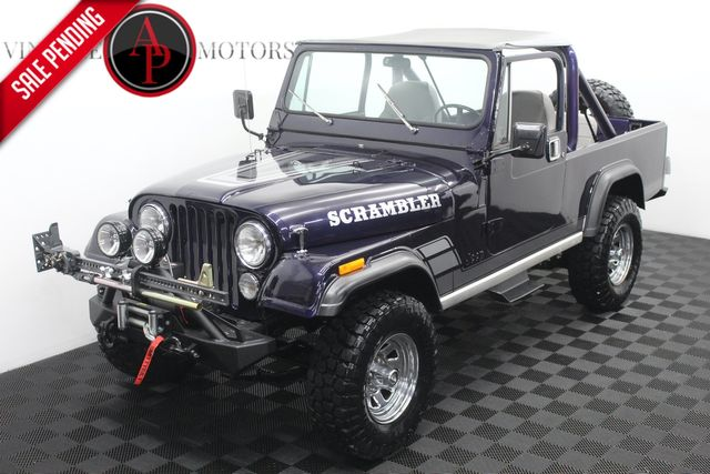 1982 Jeep CJ8 SCRAMBLER 4X4 FUEL INJECTED in Statesville, NC 28677