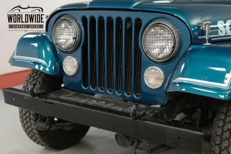1982 Jeep SCRAMBLER RESTORED PS PB REMOVABLE TOP 4X4 . GREAT COLOR | Denver, CO | Worldwide Vintage Autos in Denver, CO