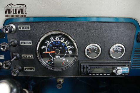 1982 Jeep SCRAMBLER RESTORED 2.5 4 CYLINDER PS PB REMOVABLE TOP 4X4  | Denver, CO | Worldwide Vintage Autos in Denver, CO