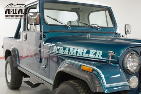 1982 Jeep SCRAMBLER RESTORED 2.5 4 CYLINDER PS PB REMOVABLE TOP 4X4  | Denver, CO | Worldwide Vintage Autos in Denver, CO