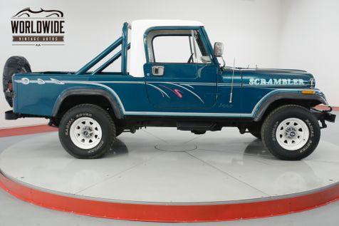 1982 Jeep SCRAMBLER RESTORED 4.2L PS PB REMOVABLE TOP 4X4  | Denver, CO | Worldwide Vintage Autos in Denver, CO