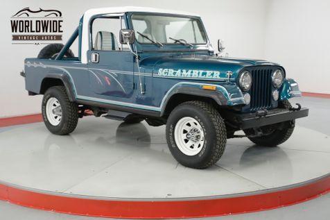 1982 Jeep SCRAMBLER RESTORED PS PB REMOVABLE TOP 4X4 . GREAT COLOR | Denver, CO | Worldwide Vintage Autos in Denver, CO
