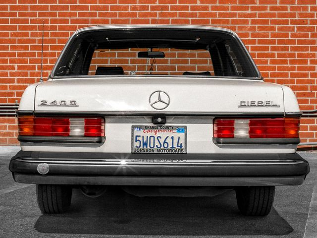 1982 Mercedes-Benz 240 Series 240D Burbank, CA 3