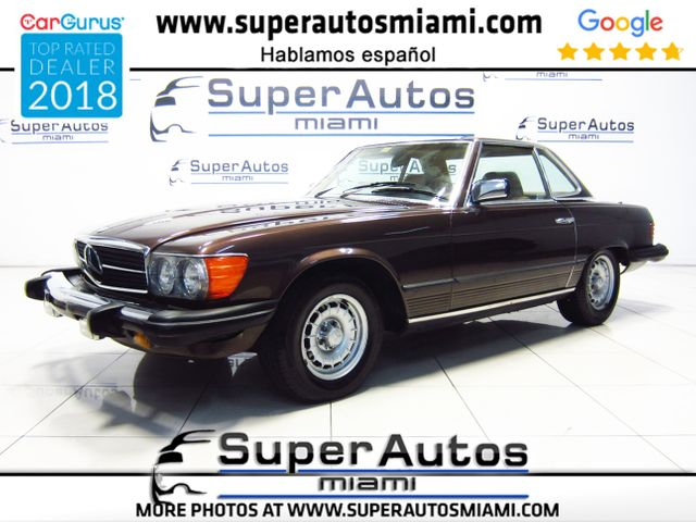 1982 Mercedes-Benz 380SL Convertible with Hard Top