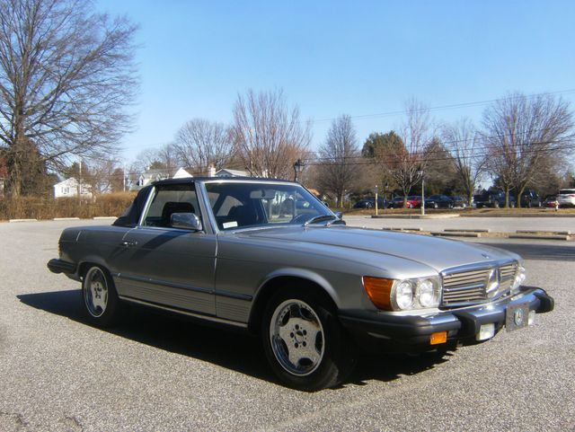 1982 Mercedes-Benz 380SL Convertible