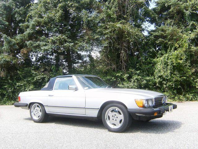 1982 Mercedes-Benz 380SL Convertible