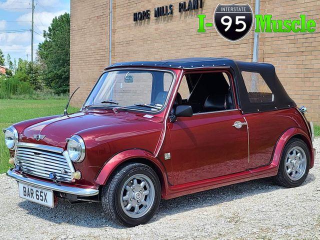 1982 Mini Cooper Convertible