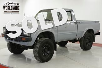 1982 Toyota HILUX 22R! 4-SPEED 4x4 SHORT BED NEW PAINT PB | Denver, CO | Worldwide Vintage Autos in Denver CO