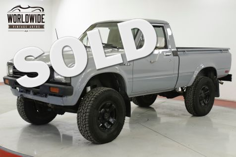 1982 Toyota HILUX 22R! 4-SPEED 4x4 SHORT BED NEW PAINT PB | Denver, CO | Worldwide Vintage Autos in Denver, CO
