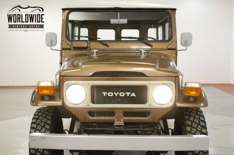 1982 Toyota LAND CRUISER  FJ45 TROOPY FRAME OFF RESTORATION | Denver, CO | Worldwide Vintage Autos in Denver, CO