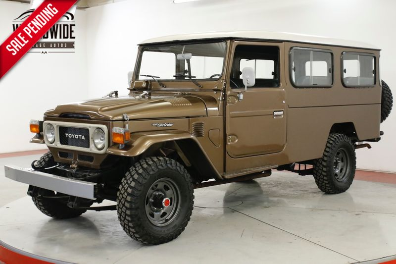 1982 Toyota LAND CRUISER  FJ45 TROOPY FRAME OFF RESTORATION | Denver, CO | Worldwide Vintage Autos
