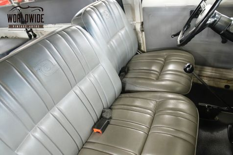 1982 Toyota LAND CRUISER  FJ45 TROOPY LHD RARE SEATS 14 WINCH LIFT | Denver, CO | Worldwide Vintage Autos in Denver, CO