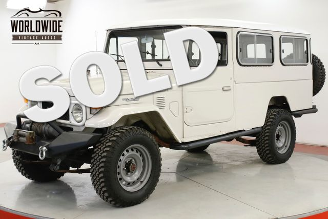 1982 Toyota LAND CRUISER  FJ45 TROOPY LHD RARE SEATS 14 WINCH LIFT | Denver, CO | Worldwide Vintage Autos in Denver CO