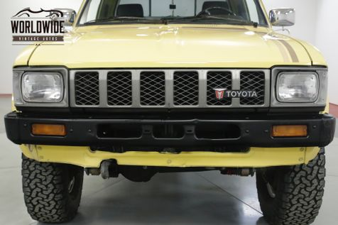 1982 Toyota PICKUP HILUX STRAIGHT AXLE 4x4 RARE LOW MILES 5 SPD | Denver, CO | Worldwide Vintage Autos in Denver, CO