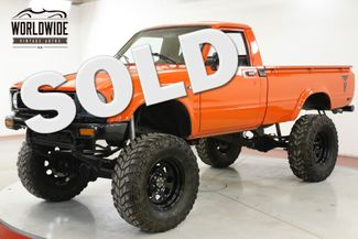 1982 Toyota PICKUP TRUCK STRAIGHT AXLE LONG BED LIFTED 90K MI | Denver, CO | Worldwide Vintage Autos in Denver CO