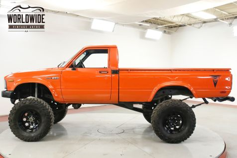 1982 Toyota PICKUP TRUCK STRAIGHT AXLE LONG BED LIFTED 90K MI | Denver, CO | Worldwide Vintage Autos in Denver, CO