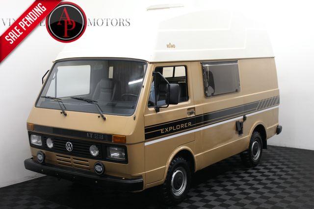 1986 Volkswagen Vanagon/Campmobile FULL RV VW CAMPER DIESEL
