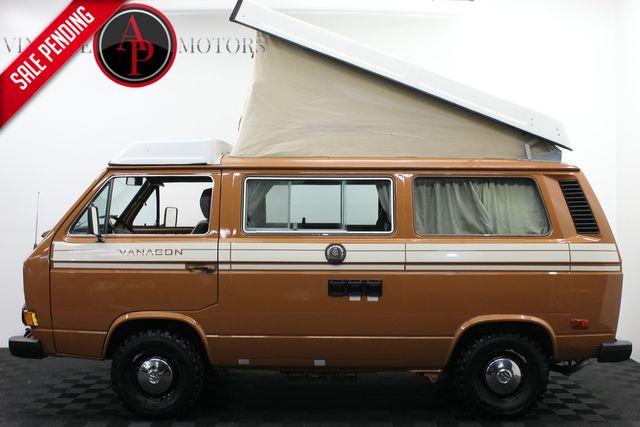 1982 Volkswagen Vanagon/Campmobile WESTFALIA TURB DIESEL