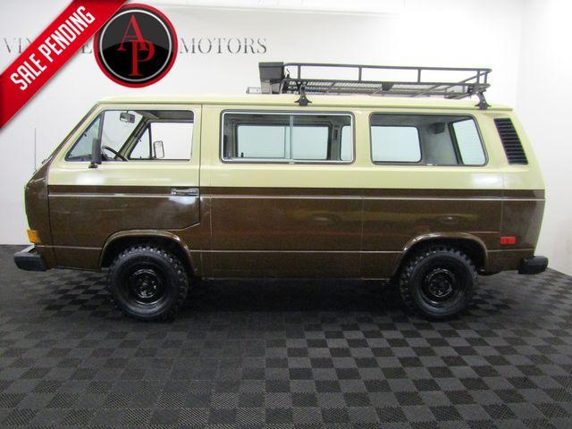 1982 Volkswagen Vanagon RARE GL DIESEL/SUNROOF