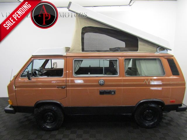 1982 Volkswagen Vanagon Westfalia RARE TURBO DIESEL CAMPMOBILE