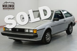 1982 Volkswagen SCIROCCO ONE OWNER. VERY CLEAN. COLLECTOR QUALITY. | Denver, CO | Worldwide Vintage Autos in Denver CO