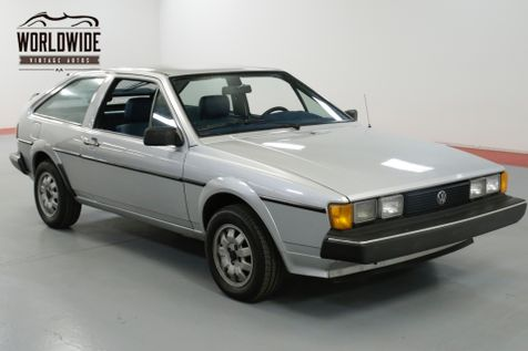 1982 Volkswagen SCIROCCO ONE OWNER. VERY CLEAN. COLLECTOR QUALITY. | Denver, CO | Worldwide Vintage Autos in Denver, CO