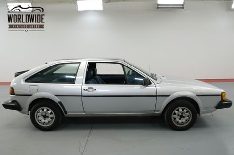 1982 Volkswagen SCIROCCO ONE OWNER. VERY CLEAN. COLLECTOR QUALITY.   Denver, CO   Worldwide Vintage Autos in Denver, CO