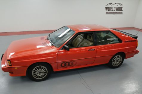 1983 Audi QUATTRO COLLECTOR! 1 OF 664! ORIGINAL PAINT! 1 OWNER  | Denver, CO | Worldwide Vintage Autos in Denver, CO
