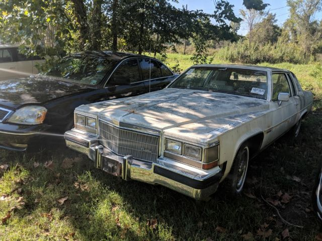 1983 Cadillac Deville Coupe