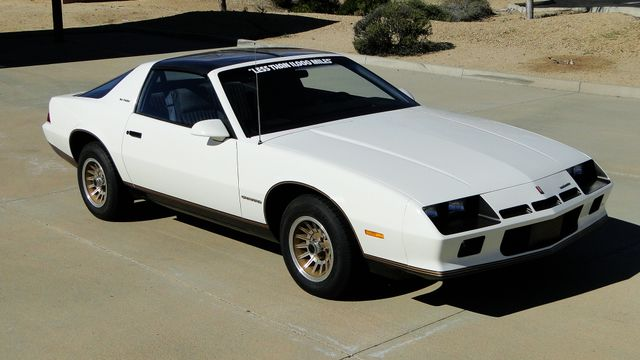 1983 Chevrolet Camaro Berlinetta  5.0 5 SPEED 10K ORIG MI. SHOWROOM NEW! ORIG DOC Phoenix, Arizona 8
