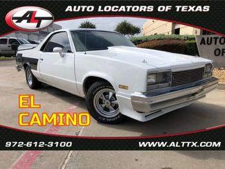 1983 Chevrolet El Camino SS in Plano, TX 75093
