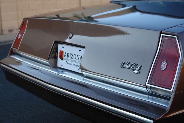 1983 Chevrolet Monte Carlo Sport Phoenix, AZ 3