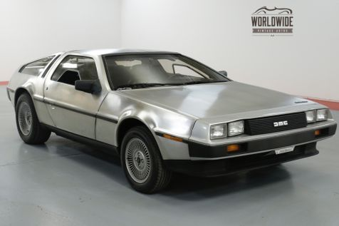 1983 Dmc DELOREAN ONE FAMILY OWNED! TIME CAPSULE. LOW MILES!  | Denver, CO | Worldwide Vintage Autos in Denver, CO