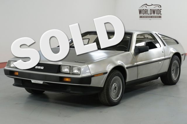 1983 Dmc DELOREAN ONE FAMILY OWNED! TIME CAPSULE. LOW MILES!  | Denver, CO | Worldwide Vintage Autos in Denver CO