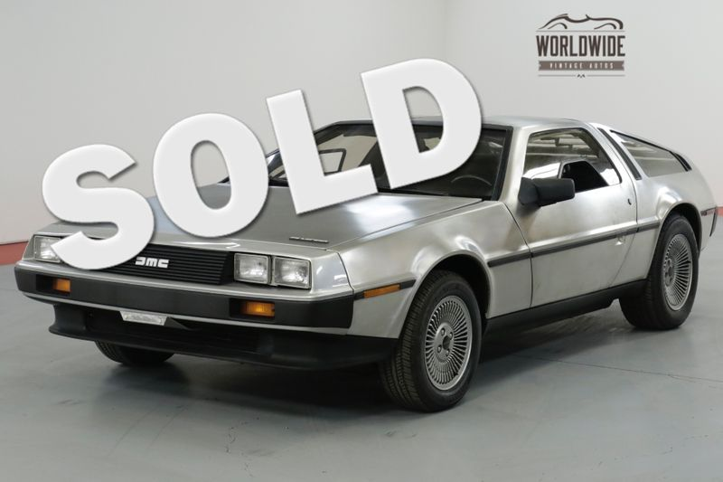1983 Dmc DELOREAN ONE FAMILY OWNED! TIME CAPSULE. LOW MILES!    Denver, CO   Worldwide Vintage Autos