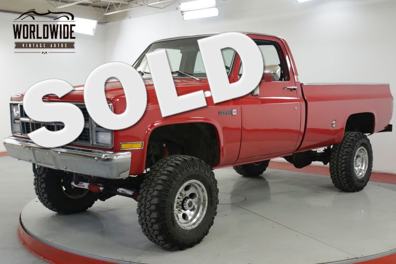 1983 GMC 3500 454 V8 4-SPEED 4 INCH LIFT PS PB MUST SEE | Denver, CO | Worldwide Vintage Autos