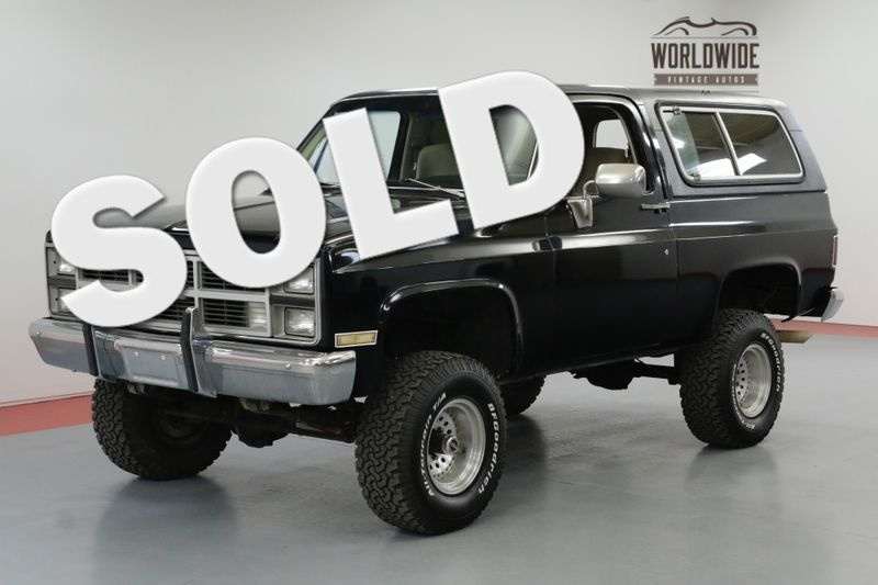 1983 GMC JIMMY CONVERTIBLE HARD TOP 350 V8 4X4 LIFTED | Denver, CO | Worldwide Vintage Autos