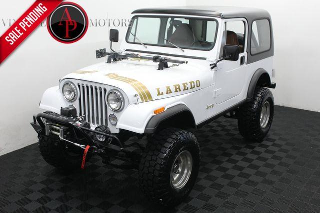 """1983 Jeep CJ7 """"LAREDO"""" V8 4X4 DISC"""
