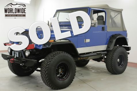 1983 Jeep CJ 7 304 V8 4SPD MANUAL LIFTED 35 INCH TIRES PS | Denver, CO | Worldwide Vintage Autos in Denver, CO
