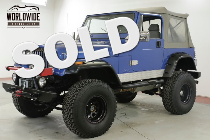 1983 Jeep CJ 7 304 V8 4SPD MANUAL LIFTED 35 INCH TIRES PS | Denver, CO | Worldwide Vintage Autos