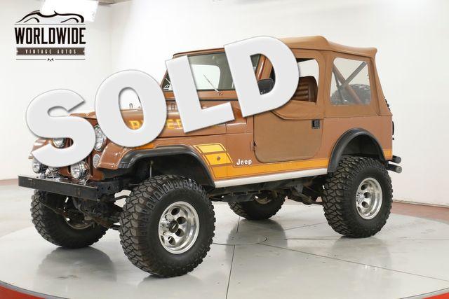 1983 Jeep CJ7 64K ORIGINAL MI/PAINT TX TRUCK TIME CAPSULE | Denver, CO | Worldwide Vintage Autos in Denver CO