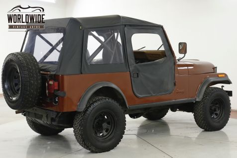 1983 Jeep CJ7 APPEARED IN THE MOVIE