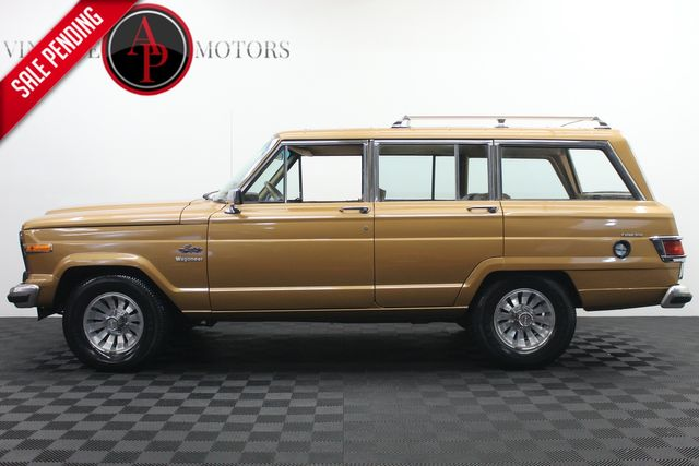 """1983 Jeep Wagoneer 4WD RARE """"LIMITED"""" V8 75K MILES"""