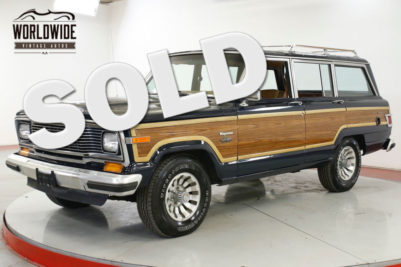 1983 Jeep WAGONEER TIME CAPSULE 360 V8 AC 87K MILES. DOCUMENTED  | Denver, CO | Worldwide Vintage Autos