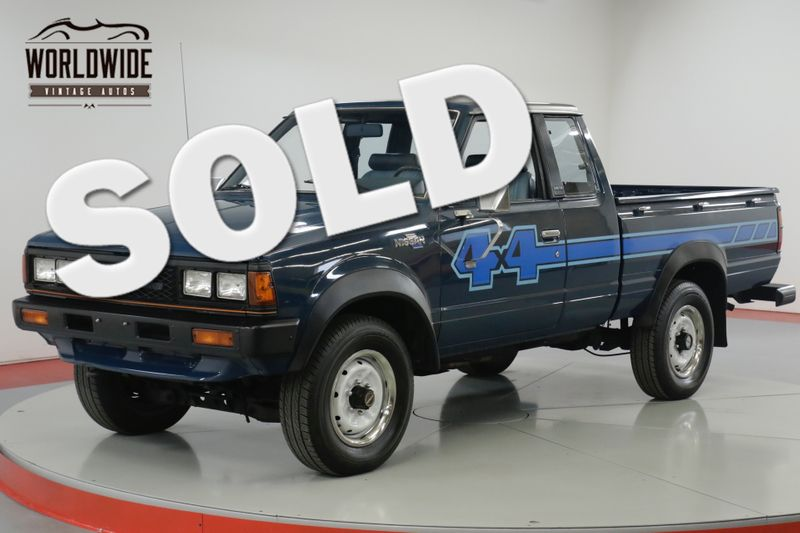 1983 Nissan 720 KING CAB 4X4 COLLECTOR GRADE. LIKE TOYOTA HILUX SR5 | Denver, CO | Worldwide Vintage Autos