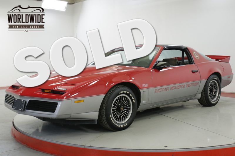 1983 Pontiac FIREBIRD  1 of 150 MECHAM RACING MSE EDITION ULTRA RARE | Denver, CO | Worldwide Vintage Autos