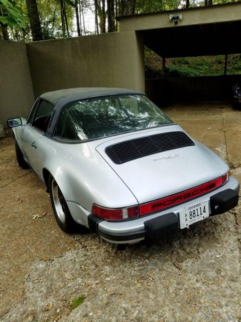 1983 Porsche 911 SC Memphis, Tennessee 1