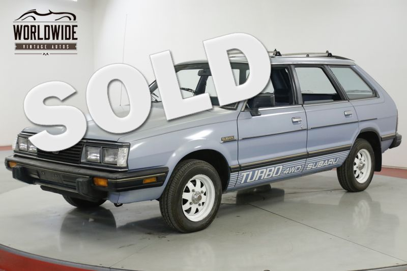 1983 Subaru GL  TURBO WAGON 4WD CA CAR LOW MI AC COLLECTOR | Denver, CO | Worldwide Vintage Autos